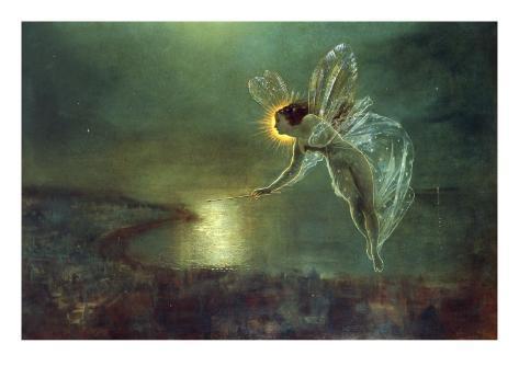 Espíritu de la noche, 1879 Lámina giclée