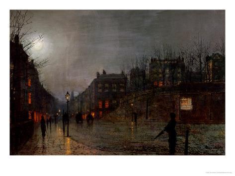 Going Home at Dusk, 1882 Lámina giclée