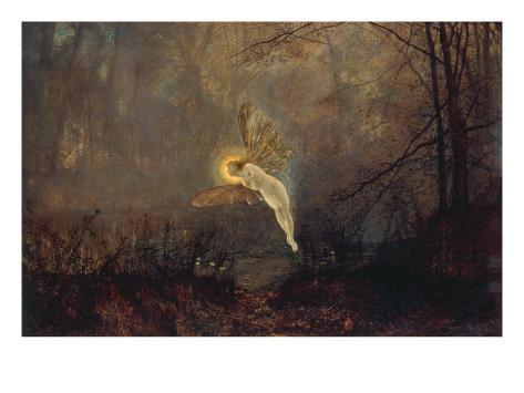 Midsummer Night' or 'Iris', 1876 Lámina giclée