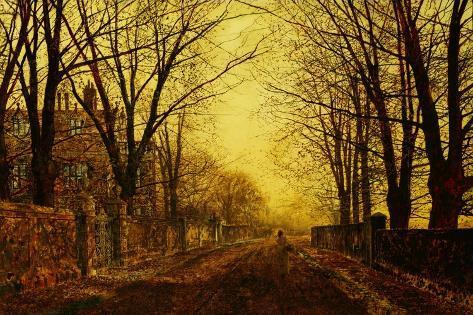 Nocturne in Gold, 1872 Lámina giclée
