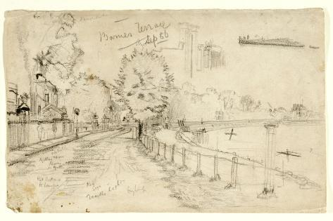 Thames at Barnes, 1886 Giclee Print