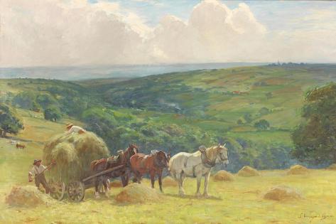 Haymaking, 1900 Giclee Print