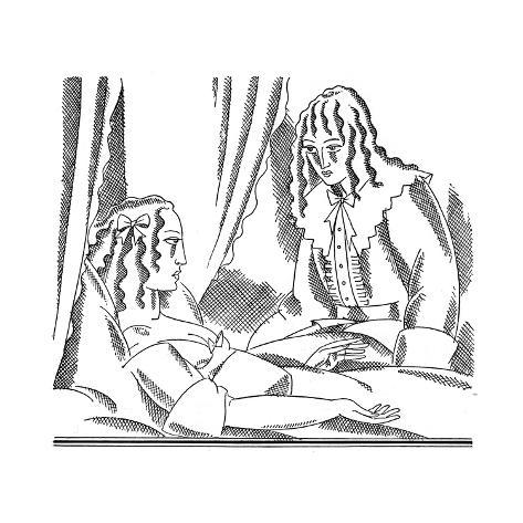Scene from Moll Flanders, 1929 Giclee Print