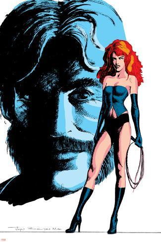 Classic X-Men No.24 Cover: Grey, Jean, Black Queen, Wyngarde and Jason Poster