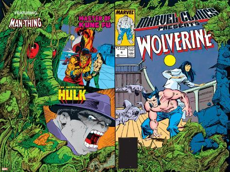 Marvel Comics Presents No.6 Cover: Cyclops Poster