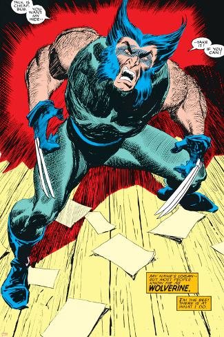 Wolverine No.1 Cover: Wolverine Poster