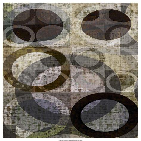 Icovia Squared I Art Print