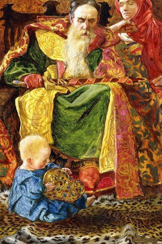 And Who Knoweth Whether He Shall Be Wise Man or a Fool, 1901 Lámina giclée