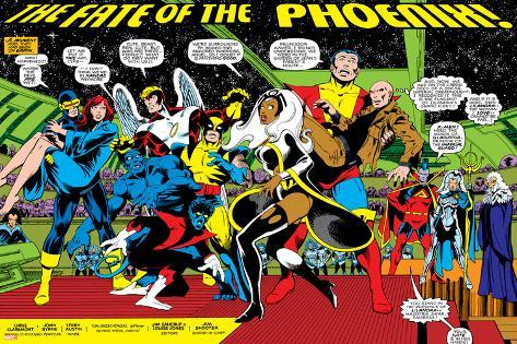 Phoenix: The Untold Story No.1 Group: Storm Poster