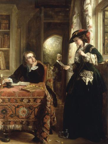 The Poet's Theme Lámina giclée