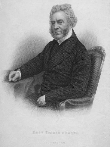 Reverend Thomas Adkins, c19th century Giclee Print