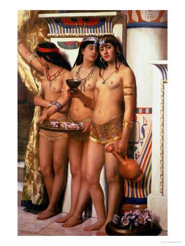 Pharaoh's Handmaidens Giclee Print
