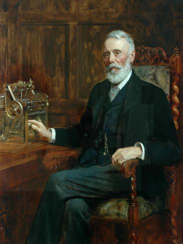 The Right Honourable Samuel Cunliffe Lister (Baron Masham of Swinton), 1901 Impressão giclée