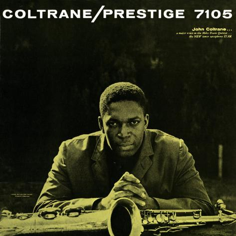 John Coltrane - Prestige 7105 Impressão artística