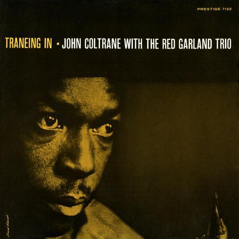 John Coltrane - Traneing In Art Print