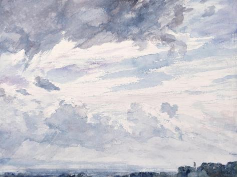 Cloud Study Giclee Print