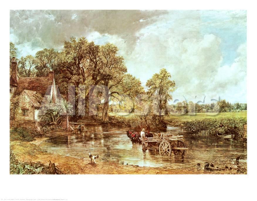 El carro de heno, 1819 Lámina por John Constable en AllPosters.es