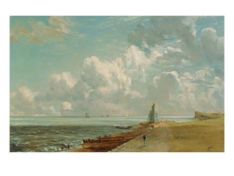 Harwich, the Low Lighthouse and Beacon Hill, c.1820 Giclee Print