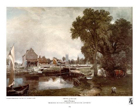 Mill at Dedham Art Print