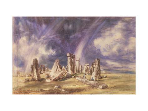 Stonehenge, 1835 Giclee Print