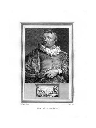 Adriaen Van Stalbemt, Flemish Painter Giclee Print