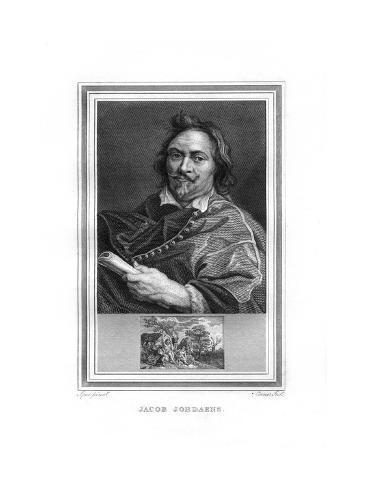 Jacob Jordaens, Flemish Baroque Era Painter Giclee Print