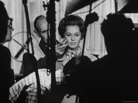 Actress Tippi Hedren Testing for Hitchcock's New Movie,