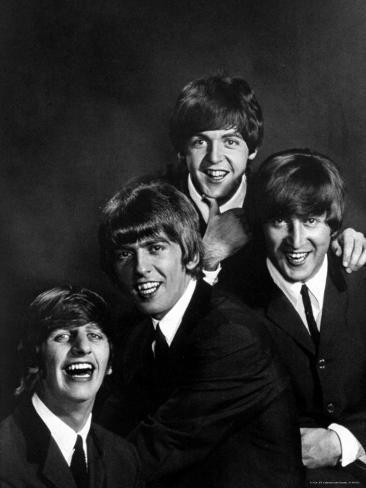 Ringo Starr George Harrison Paul McCartney And John Lennon