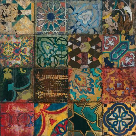 Arabian Nights II Premium Giclee Print