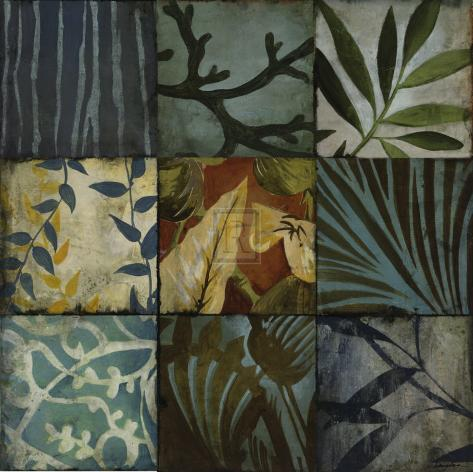 Tile Patterns II Stampa artistica