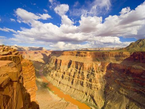 Grand Canyon and Colorado River Photographic Print