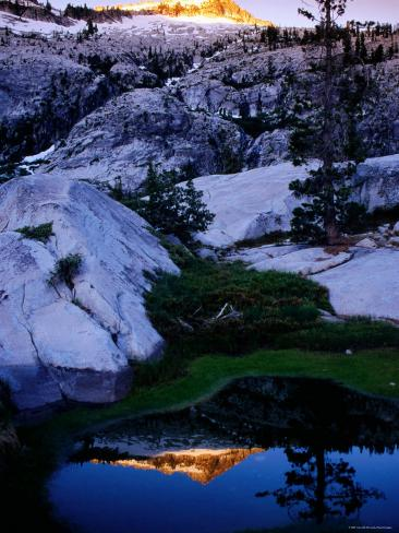 Boulder Creek Basin, Trinity Alps, California Photographic Print
