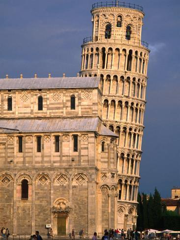 Leaning Tower, Pisa, Italy Fotoprint
