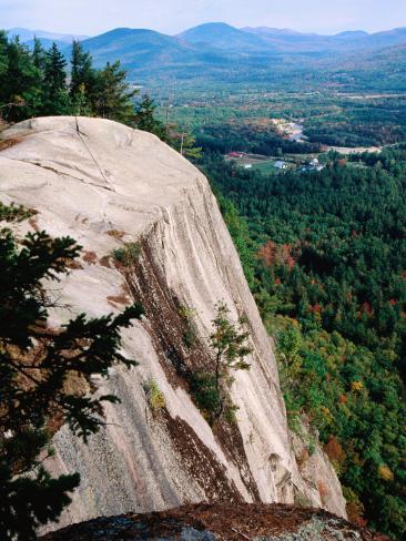 Mt. Washington Valley Cathedral Ledge, New Hampshire Photographic Print