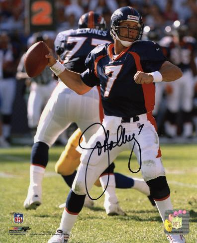 John Elway Denver Broncos Autographed Photo (Hand Signed Collectable) Photo