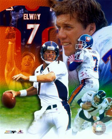 John Elway - Legends of the Game Composite - ©Photofile (Limited Edition) Photo