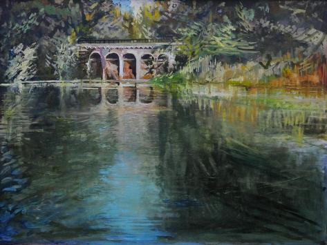Viaduct Hampstead Heath Giclee Print