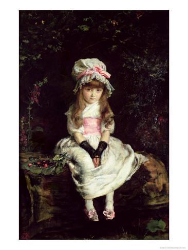 Cherry Ripe, 1879 Lámina giclée