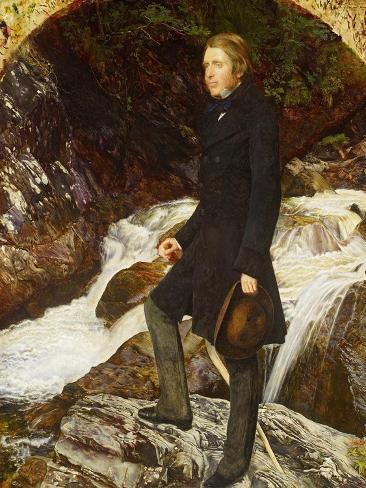 John Ruskin, 1854 Lámina giclée