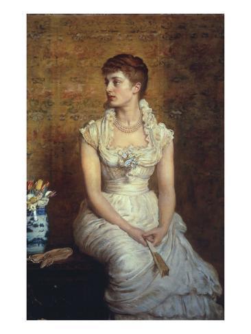 Lady Campbell (Nina Lehmann), 1884 Lámina giclée