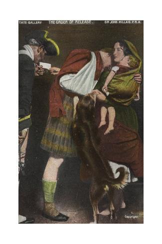 The Order of Release Lámina giclée