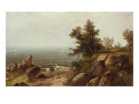 On the Coast, Beverly, Massachusetts Giclee Print