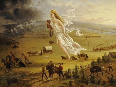 American Progress, 1872 Giclee Print