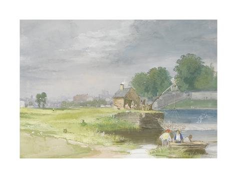 Exeter, 1810-65 Giclee Print