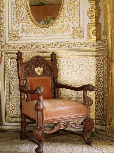 An Original Chair Used At The Coronation Of King George The Fifth In 1911,  Sirohi, India