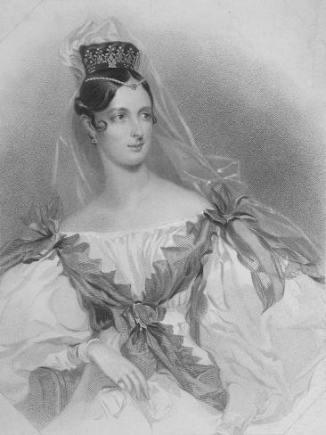 The Lady Adeline, 1847 Giclee Print