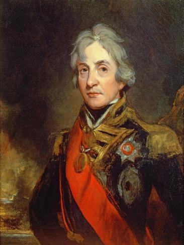 Lord Nelson Lámina giclée
