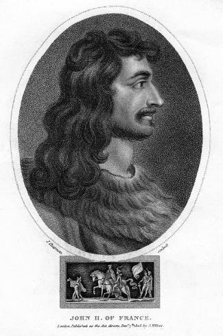 John II, King of France Giclee Print