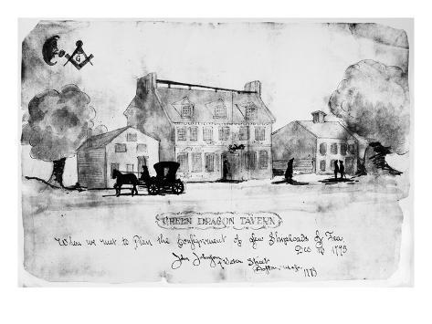 Boston: Tavern, 1773 Giclee Print