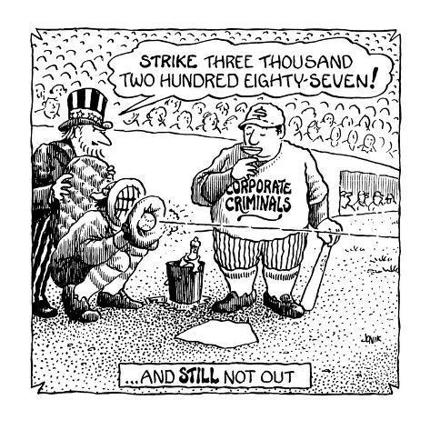 Strike three thousand two hundred eighty-seven!' - Cartoon Premium Giclee Print